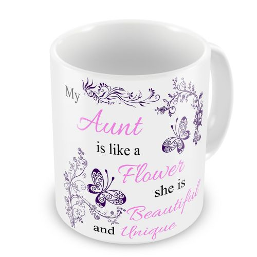 My... Is Like A Flower Floral Novelty Gift Mug